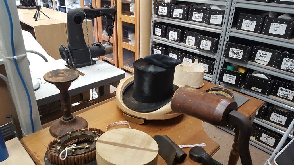 Ascot Top Hats Workshop - Hat Repairs and Fitting